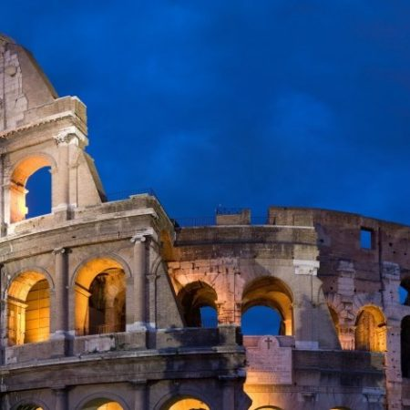 Collesium Rome Italy Vacation