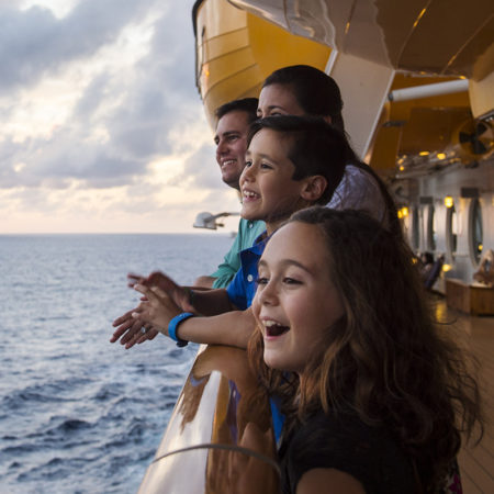A magical Disney vacation on land and at sea