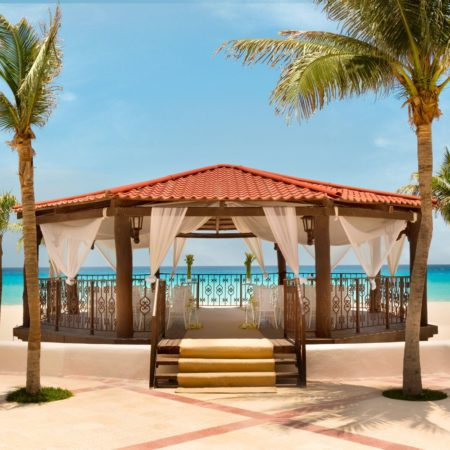 Hyatt Zilara Cancun Wedding Gazebo