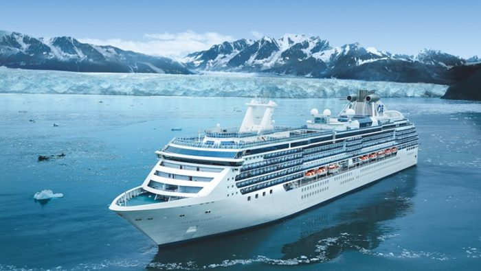 Princess Cruises in Glacier Bay Alaska