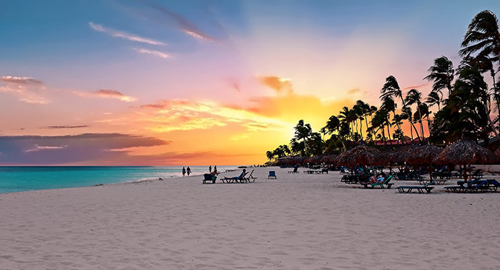 Druif beach on Aruba