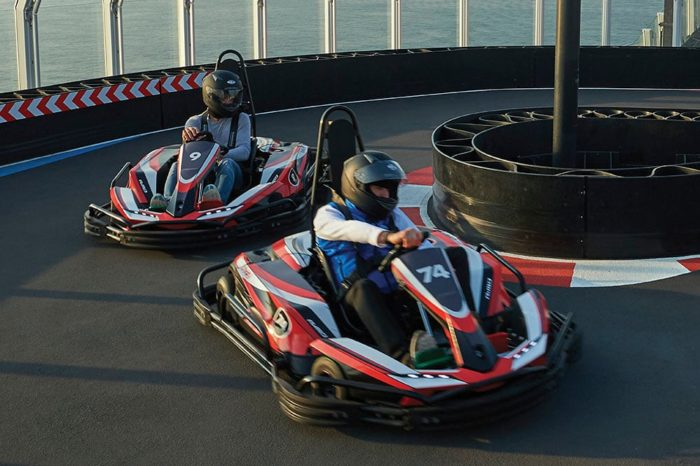 Norwegian Joy Go Carts