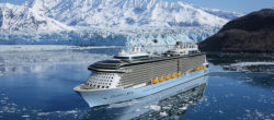 Radiance of the Seas at Hubbard Glacier - Alaska